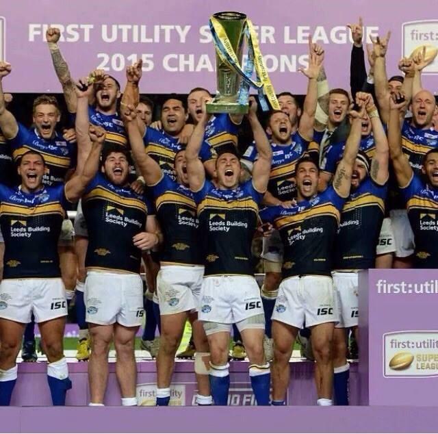 Jimmy Keinhorst und Leeds Rhinos gewinnen Super League Pokal